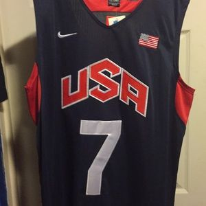 Russell Westbrook Olympic Team USA Nike jersey